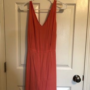 Summer dress with open back